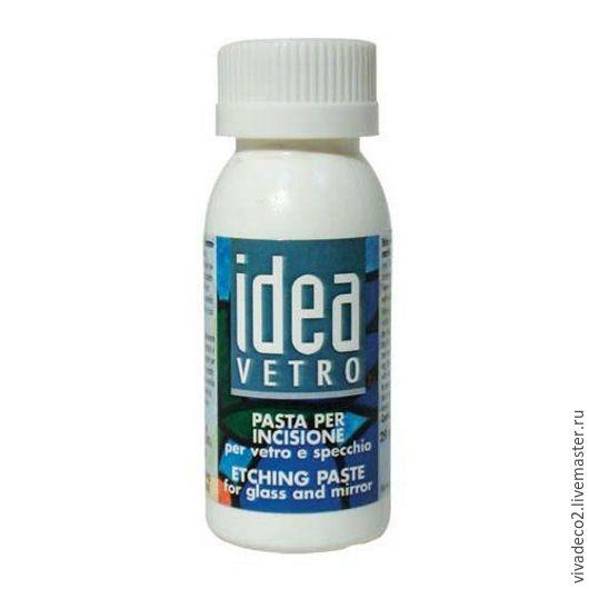 Паста для травления стекла Idea Vetro/29мл арт 70775200    3/0