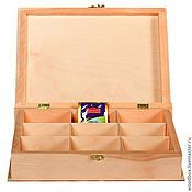 Материалы для творчества handmade. Livemaster - original item Kn32237P9 Box-book with 9 cells 35 26 8 cm.. Handmade.
