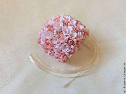 Свадебные украшения ручной работы. Ярмарка Мастеров - ручная работа. Купить Браслет для невесты, браслет для подружек невесты из полимерной глины. Handmade.
