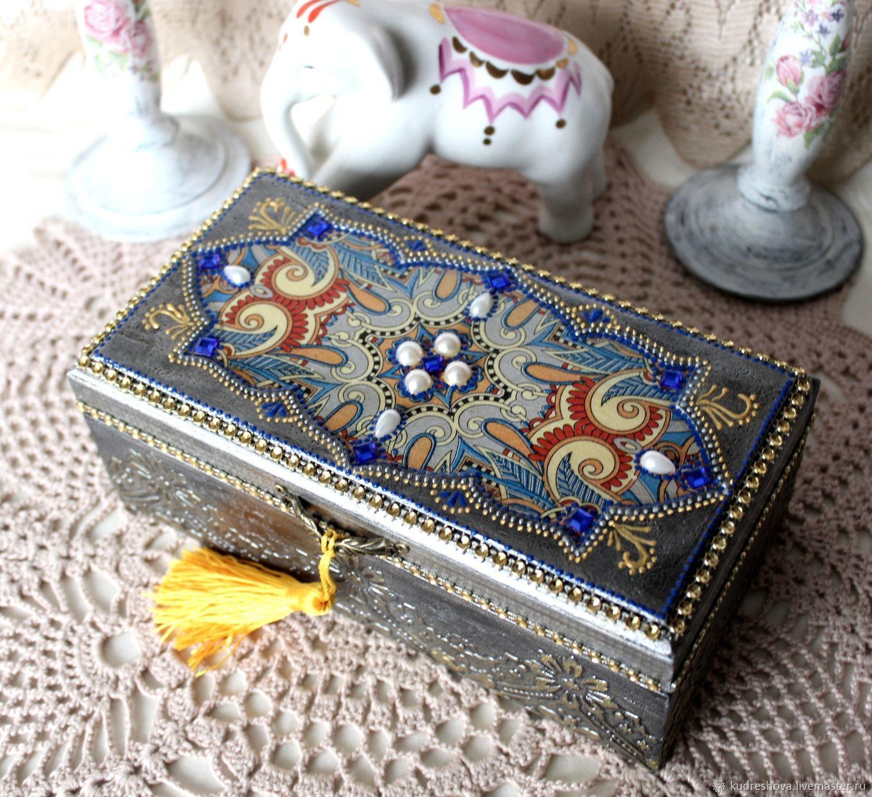 Copernica, box Eastern, decoupage, Box, Frolovo,  Фото №1