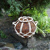 Для дома и интерьера ручной работы. Ярмарка Мастеров - ручная работа Корзина для хранения. Handmade.
