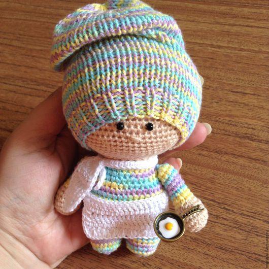 Человечки ручной работы. Ярмарка Мастеров - ручная работа. Купить Поварешка / амигуруми / вязаная кукла / вязаная игрушка. Handmade.