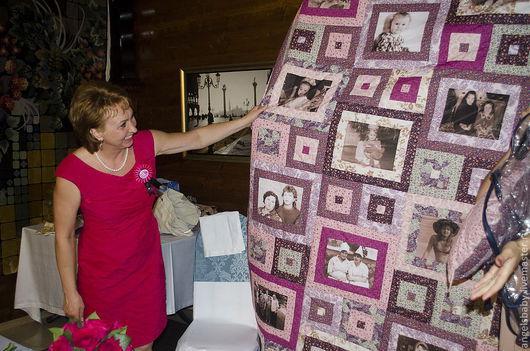 """Текстиль, ковры ручной работы. Ярмарка Мастеров - ручная работа. Купить Лоскутное покрывало """"Юбилейное """". Handmade. Лоскутное одеяло"""