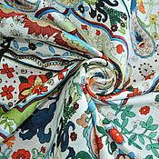 "Ткани ручной работы. Ярмарка Мастеров - ручная работа Матлассе жаккард ""Moschino"". Handmade."