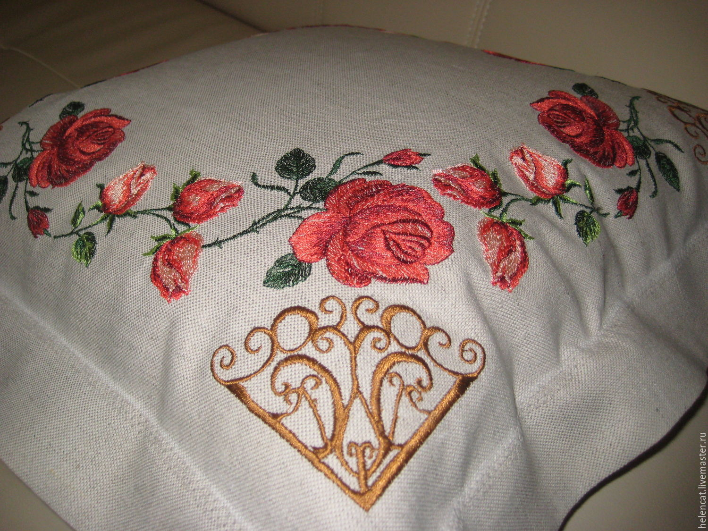 Вышивка наволочек на подушки 64