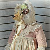 Куклы и игрушки ручной работы. Ярмарка Мастеров - ручная работа Тётушка Камелия, 30 см. Handmade.