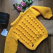 """Одежда ручной работы. Ярмарка Мастеров - ручная работа Вязаный свитер """"Ананас"""". Handmade."""