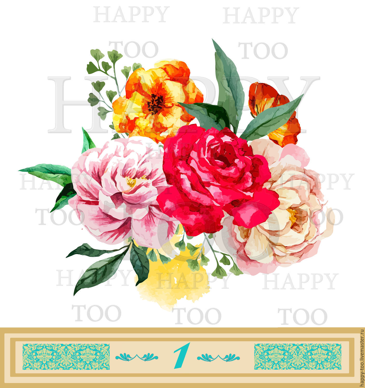 <b>Купить</b> термоаппликации цветы