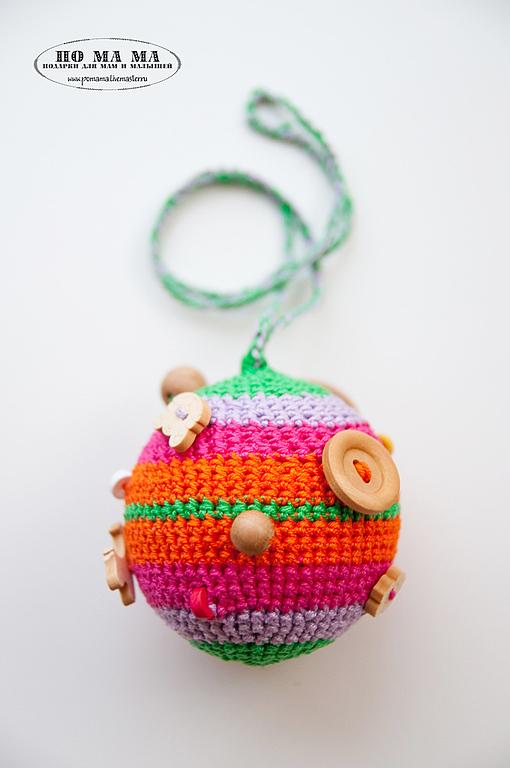 ПоМаМа - Подарки ручной работы для Мам и  Малышей. Вязанные шарики для ваших маленьких.