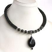 """Necklace handmade. Livemaster - original item Колье """"Офисное"""". Handmade."""