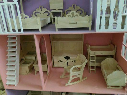 Кукольный дом ручной работы. Ярмарка Мастеров - ручная работа. Купить Кукольная мебель для Барби. Handmade. Раковина, кровать для куклы