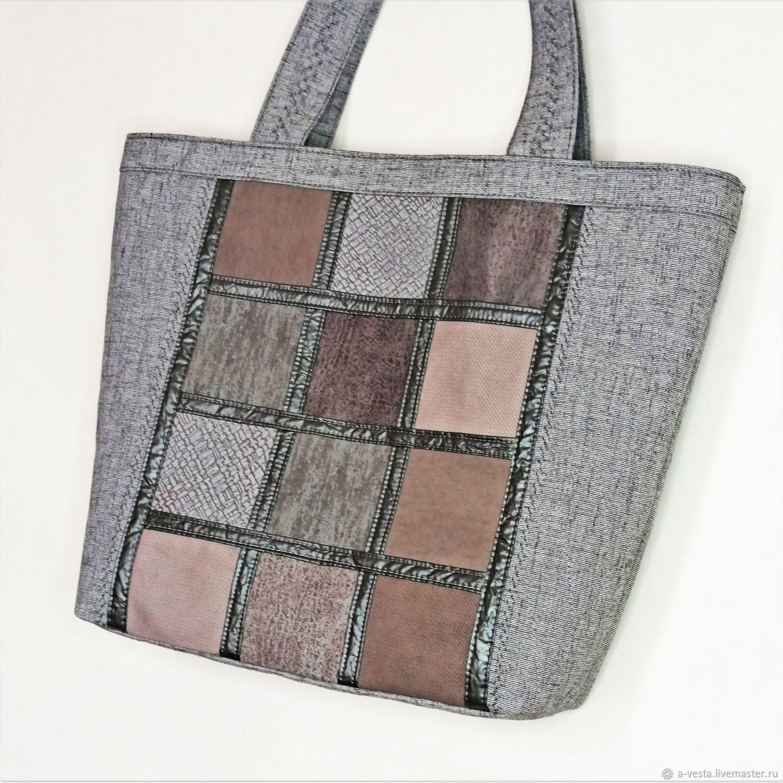Graphite tote bag, women's casual bag, shopper (131), Tote Bag, Saratov,  Фото №1