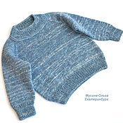 handmade. Livemaster - original item Children`s knitted jumper for height 80 cm. Handmade.