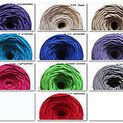 Материалы для творчества handmade. Livemaster - original item Knitted yarn-ribbon assortment (Turkey). Handmade.