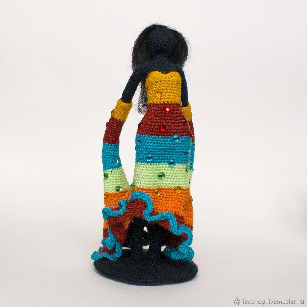 Фея танца. Бегущая по волнам. Коллекционная кукла, Мини фигурки и статуэтки, Барнаул,  Фото №1