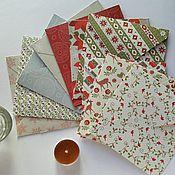 Сувениры и подарки ручной работы. Ярмарка Мастеров - ручная работа Новогодние конверты для диска в наличии. Handmade.