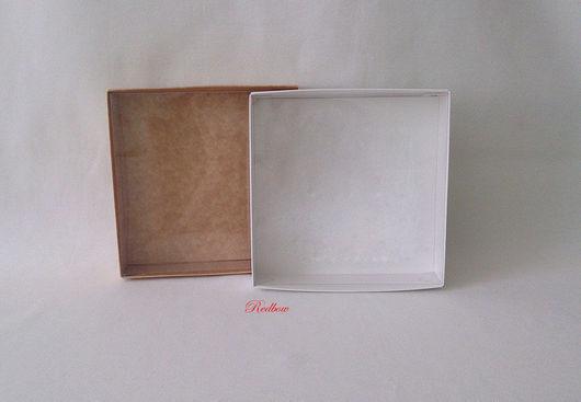 Упаковка ручной работы. Ярмарка Мастеров - ручная работа. Купить Коробочка с прозрачной крышкой М2. Handmade. Коробка, коробка для подарка