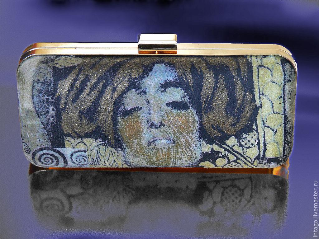 The bag'Judith' based on Klimt, Clutches, Novosibirsk,  Фото №1
