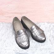 Обувь ручной работы. Ярмарка Мастеров - ручная работа Лоферы Faktura. Handmade.