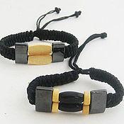 Украшения handmade. Livemaster - original item Bracelets Bamun, Pangue and Fang marine. Handmade.