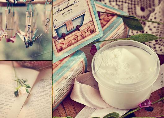 """Масла и смеси ручной работы. Ярмарка Мастеров - ручная работа. Купить """"Баловство"""" взбитое масло ши. Handmade. подарок для женщины"""