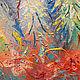 """Картина с совами """"Ты спи любимая, а я пока покараулю..."""". Картины. Удивительные картины Юлии Ягудиной. Интернет-магазин Ярмарка Мастеров.  Фото №2"""