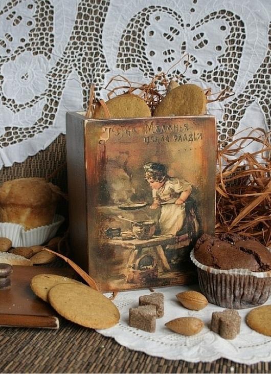 """Кухня ручной работы. Ярмарка Мастеров - ручная работа. Купить короб """"Маланья"""". Handmade. Коричневый"""