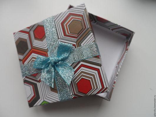 """Упаковка ручной работы. Ярмарка Мастеров - ручная работа. Купить Коробочки подарочные """"Разноцветные"""". Handmade. Комбинированный, коробочка для украшений"""