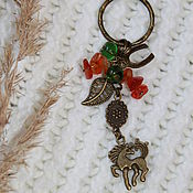 """Аксессуары ручной работы. Ярмарка Мастеров - ручная работа Брелок для ключей """"Коняшка"""". Handmade."""