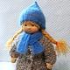 Вальдорфская игрушка ручной работы. Маша, 42 см. svetlana. Ярмарка Мастеров. Натуральные материалы, кукла для девочки, хлопок