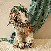 Куклы и игрушки ручной работы. Ярмарка Мастеров - ручная работа Снежный Лев. Handmade.