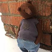Куклы и игрушки handmade. Livemaster - original item Teddy bear Tommy. Handmade.
