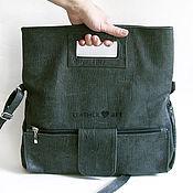 Сумки и аксессуары handmade. Livemaster - original item Leather bag City -2. Handmade.