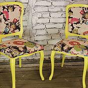 Для дома и интерьера ручной работы. Ярмарка Мастеров - ручная работа Комплект стульев (2шт). Handmade.