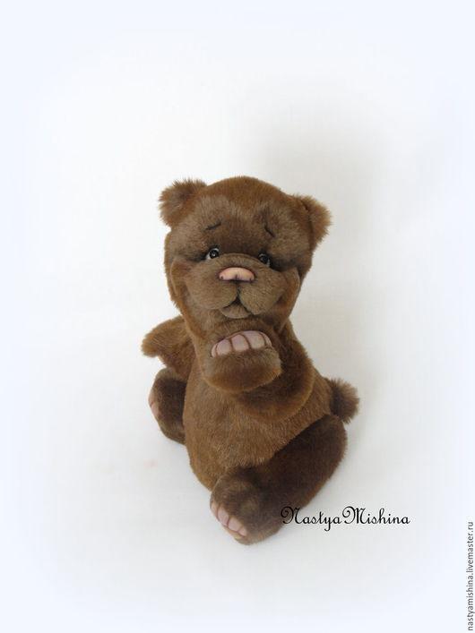 Мишки Тедди ручной работы. Ярмарка Мастеров - ручная работа. Купить Миша. Handmade. Коричневый, игрушка в подарок, мех искусственный