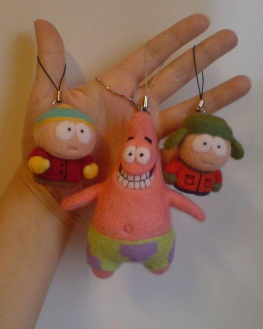 Fairy-Tale Dolls handmade. Livemaster - handmade. Buy South park characters and Patrick.Cartoon characters