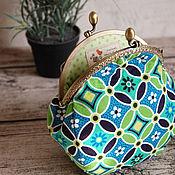 Сумки и аксессуары handmade. Livemaster - original item Cosmetic bag with clasp Floral ornament. Handmade.