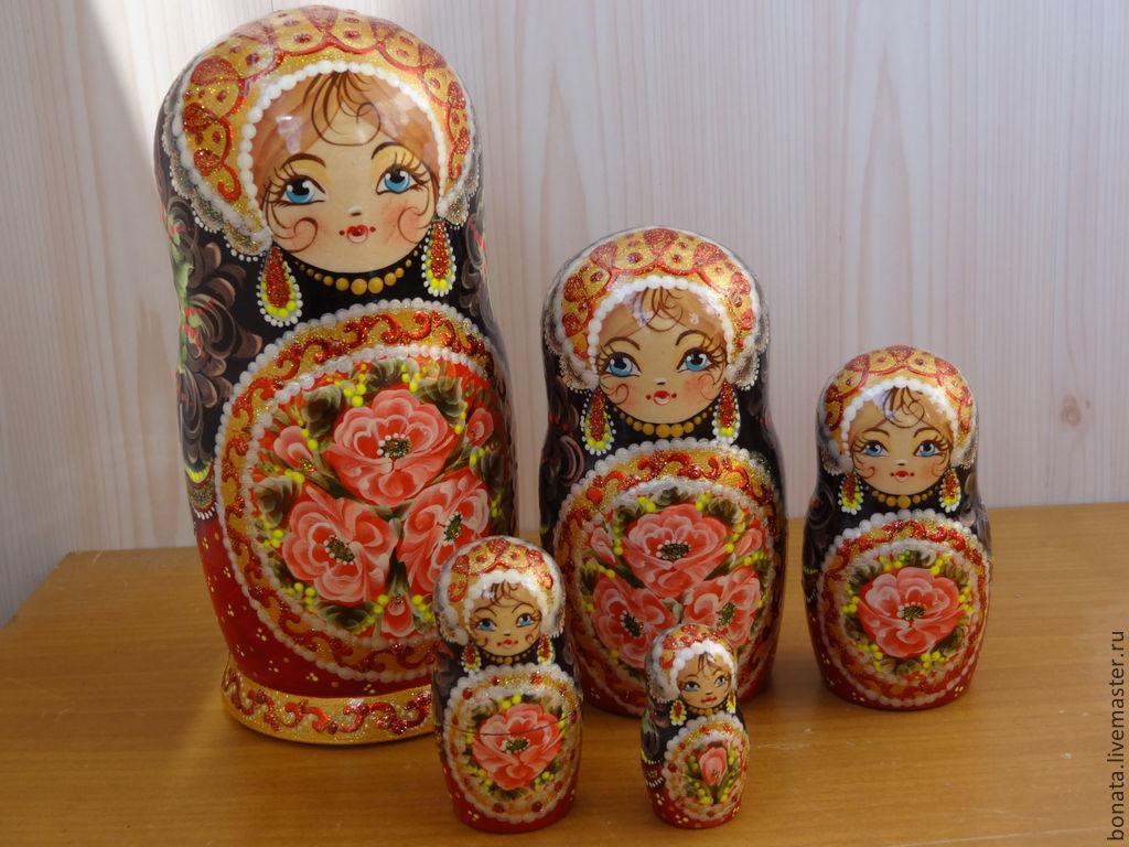 """Матрёшка 5 мест """" Русская красавица"""", Матрешки, Тверь,  Фото №1"""