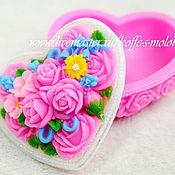Материалы для творчества handmade. Livemaster - original item Silicone molds for soap flower Box. Handmade.