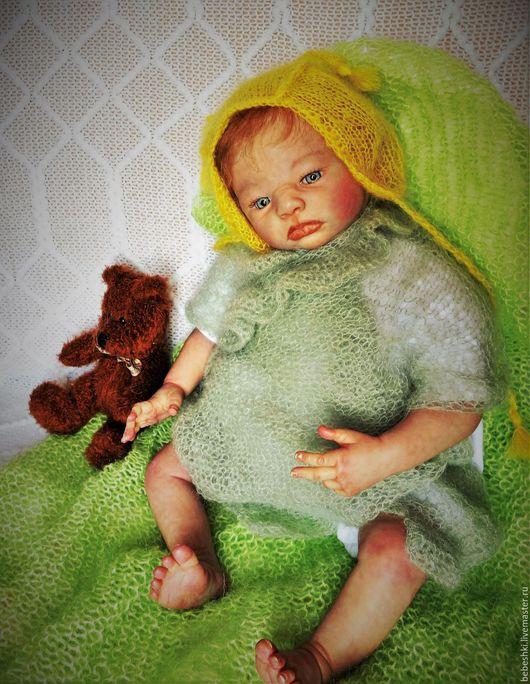 Куклы-младенцы и reborn ручной работы. Ярмарка Мастеров - ручная работа. Купить Кукла реборн мальчик. Handmade. Бежевый