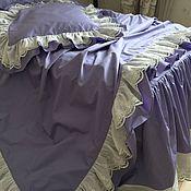 handmade. Livemaster - original item Bed linen from luxury satin