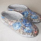 """Обувь ручной работы. Ярмарка Мастеров - ручная работа Тапочки """"Аксинья"""". Handmade."""