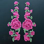 Материалы для творчества handmade. Livemaster - original item Unmatched 3D embroidery, applique, Gella. Handmade.