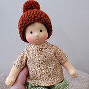 Куклы и игрушки ручной работы. Ярмарка Мастеров - ручная работа Младший братик, 26 см. Handmade.