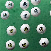 Материалы для творчества ручной работы. Ярмарка Мастеров - ручная работа Глаза 6-7 мм. Handmade.