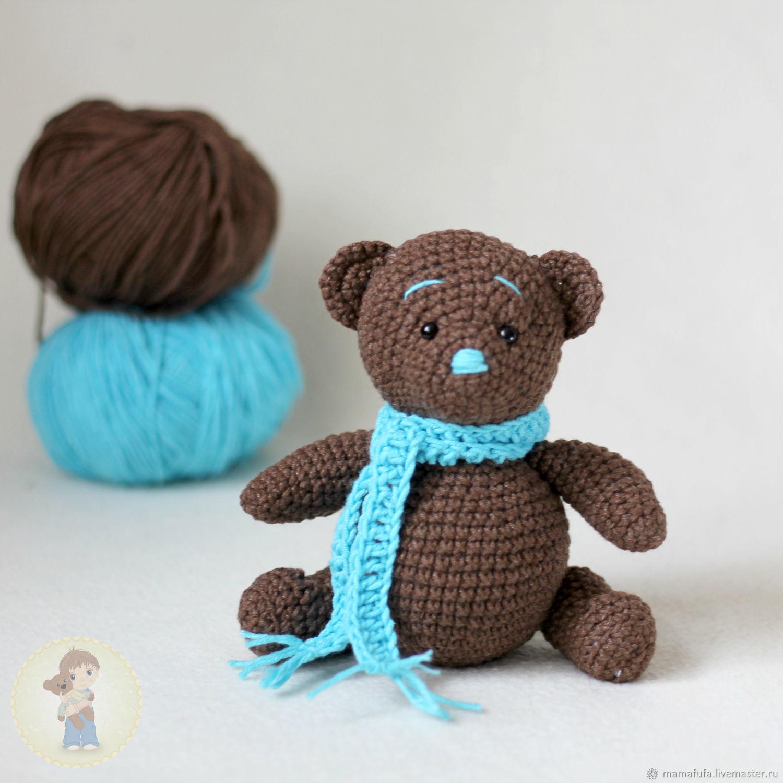 Animal Toys Handmade Livemaster  Handmade Buy Toy Chocolate Bear