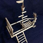 Для домашних животных, ручной работы. Ярмарка Мастеров - ручная работа Игровая площадка для попугая. Handmade.