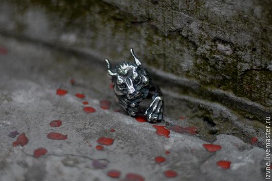 """Кольца ручной работы. Ярмарка Мастеров - ручная работа. Купить Кольцо """"Рысь"""". Handmade. Серебряный, пророчица"""