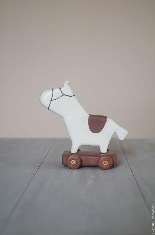 Игрушки животные, ручной работы. Ярмарка Мастеров - ручная работа. Купить Лошадка. Handmade. Дерево, лошадка интерьерная, декор интерьера