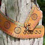 Аксессуары handmade. Livemaster - original item The genuine leather belt Argentina. Handmade.